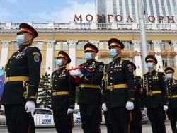 Монгол Улсын Ерөнхийлөгчийн  тангараг өргөх ёслолд з