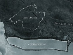 Испанийн Мальорка арлаас ч том мөсөн уул Антрактидаа